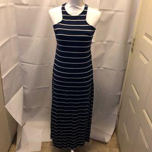 Rolla Coster Dresses - Rolla Coster blue&white striped maxi dress in EUC